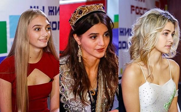 Тульские студентки прошли отбор на конкурс красоты и таланта