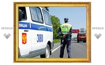На дорогах Тульской области погибли два человека