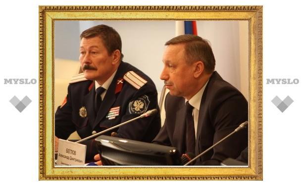 В Туле откроют казачий кадетский корпус?