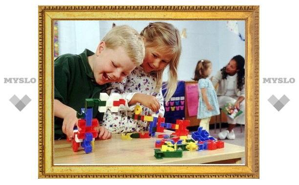 В детских садах Тулы открылось шесть новых групп