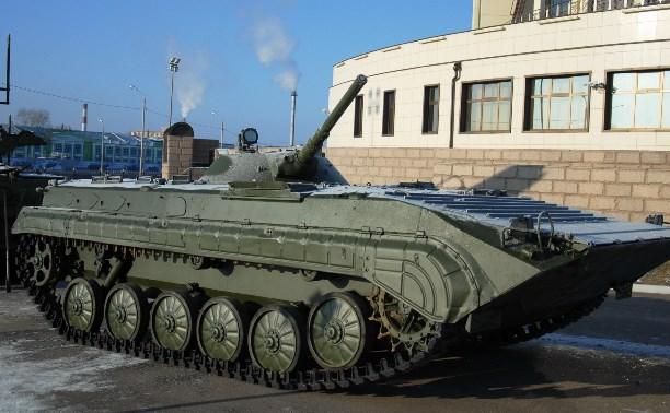 Коллекцию Тульского музея оружия пополнила БМП-1П