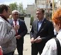 Алексей Дюмин проинспектировал работы по восстановлению дома в Ясногорске