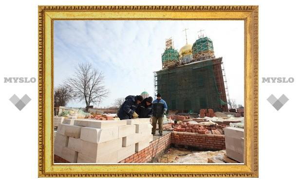 Идет активное восстановление Тульского кремля