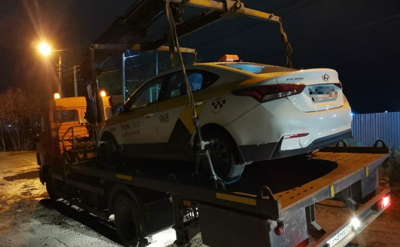 В Тульской области задержаны восемь таксистов-нелегалов