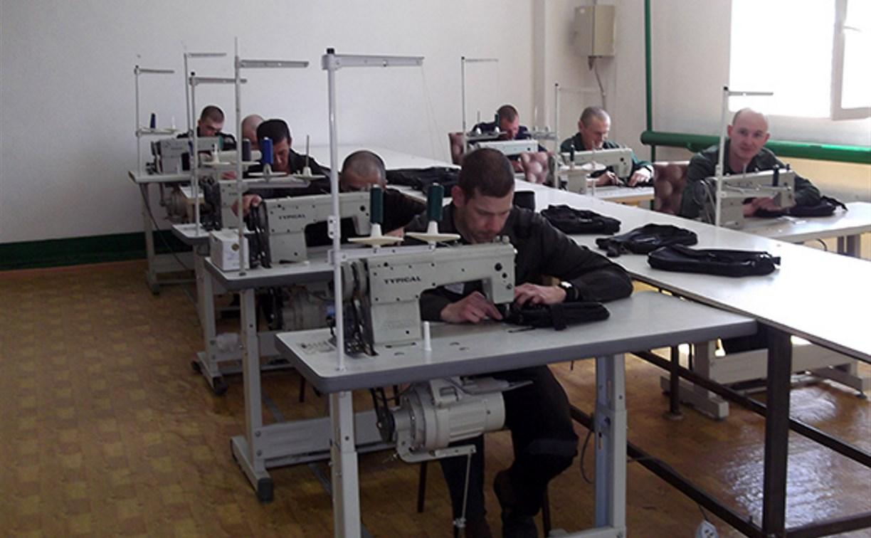 В Донском в исправительной колонии открыли швейных цех