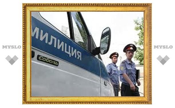 Тулячка укусила милиционера