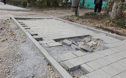 К маю в Туле определят подрядчика для ремонта тротуаров