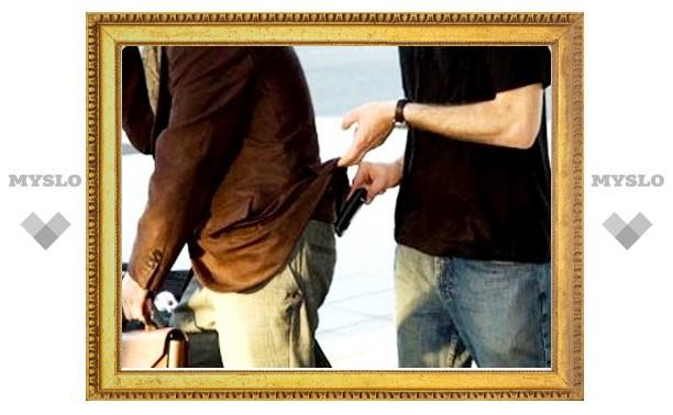 В Туле поймали карманника