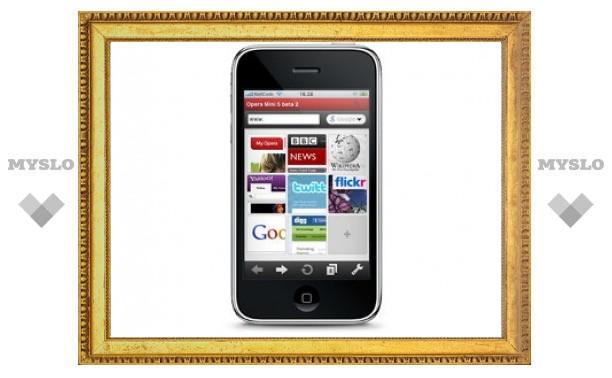 Opera покажет новый браузер для iPhone