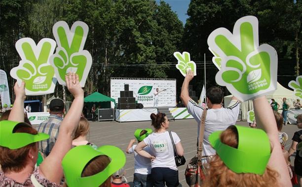 «Зеленый марафон» подарил тулякам положительные эмоции