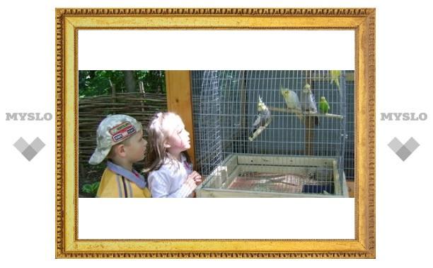 В парке открылся зооуголок