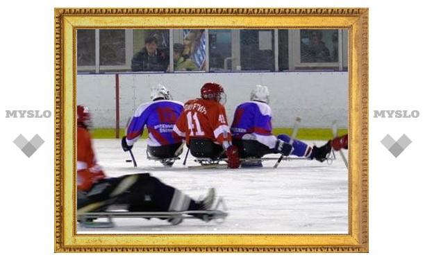 В Алексине соберутся хоккеисты-параолимпийцы со всей России
