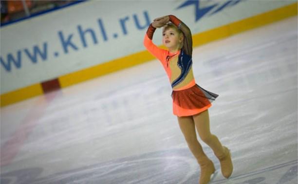 Новомосковские фигуристы достойно выступили в Мценске