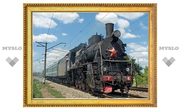 В честь юбилея Козловой Засеки туляков прокатят на ретропоезде