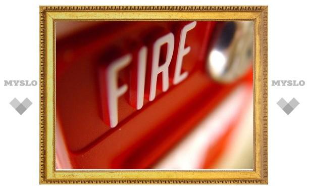 В Тульской области не установлены звуковые сигналы, оповещающие о пожаре