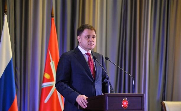 Владимир Груздев пожелал Дюмину успехов в непростой работе