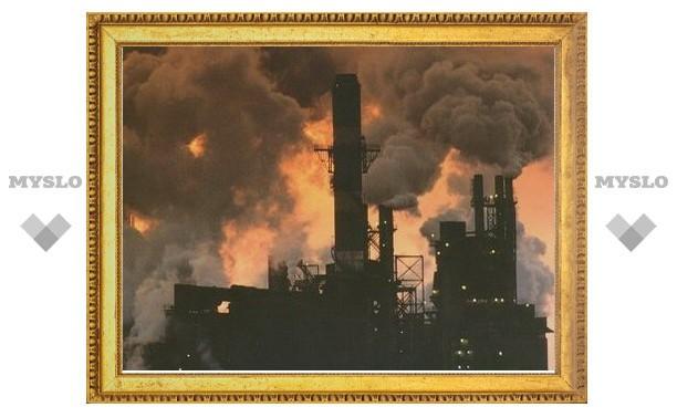 В Тульской области предприятие загрязняет территорию