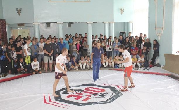 Тульские борцы приняли участие в алексинском турнире