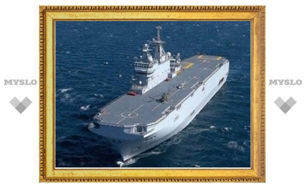 """Франция предложила России два вертолетоносца """"Мистраль"""""""