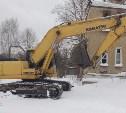 В Туле снесли аварийный дом