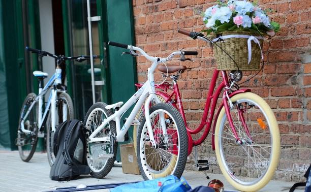 Тульские школьники приняли участие в открытом первенстве по велокроссу