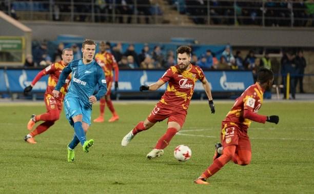 «Зенит» — «Арсенал»: питерцы победили со счетом 2:0