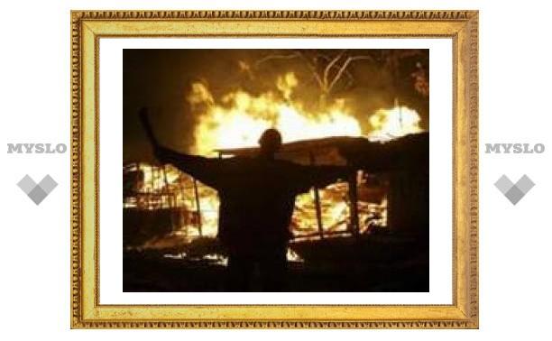 Пятьдесят человек сгорели заживо в церкви в Кении