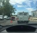 На Новомосковском шоссе произошло тройное ДТП
