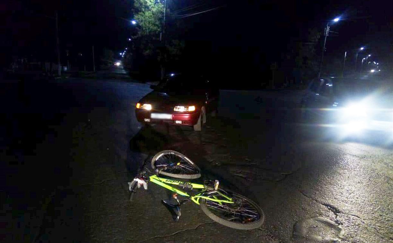 В Богородицке водитель «десятки» сбил пьяную велосипедистку