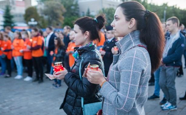 22 июня туляки почтили память павших в годы войны ночным шествием