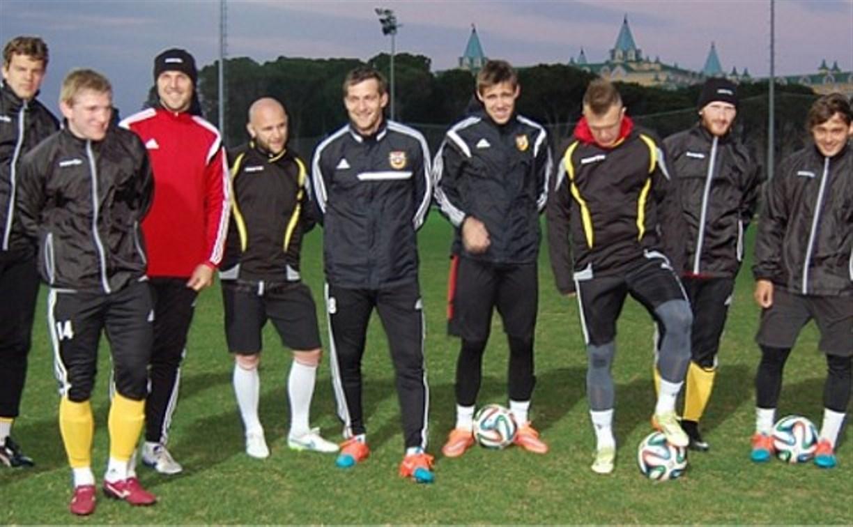 Тульский «Арсенал» начал тренировочный сбор в Турции