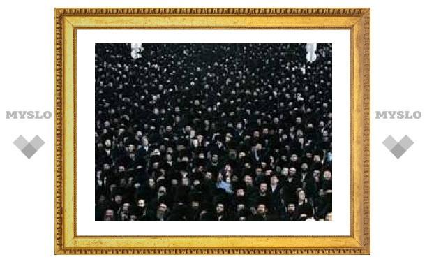 В Иерусалиме на свадьбу внука раввина пришли 50 тысяч гостей