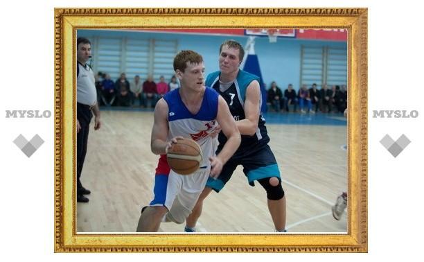 Тульские баскетбольные клубы завершили сезон в первенстве округа