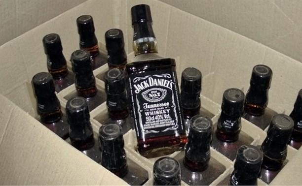 Тульские полицейские изъяли партию контрафактного алкоголя на 50 миллионов рублей