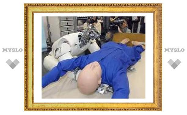 Роботы учатся поднимать и переносить тяжелые грузы
