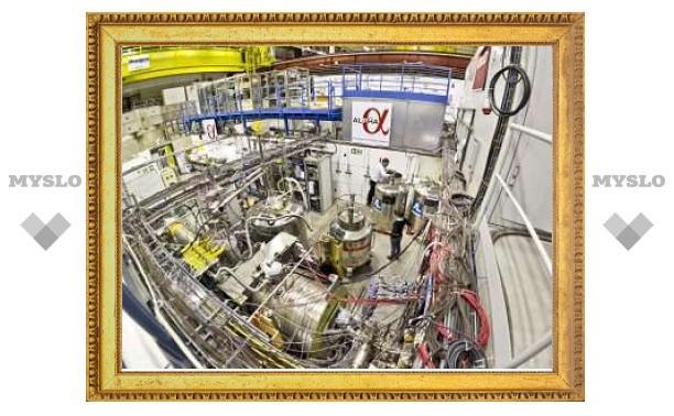 Физики впервые поймали в ловушку атомы антивещества