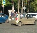 На улице Станиславского в Туле столкнулись две легковушки