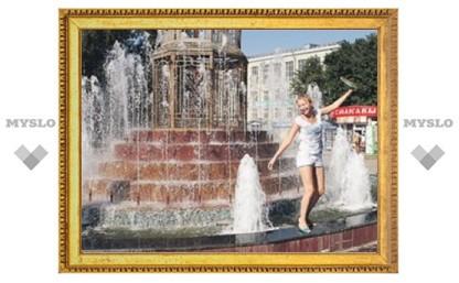 Тульские фонтаны могут угрожать безопасности граждан