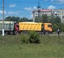 На Новомосковском шоссе серьезное ДТП