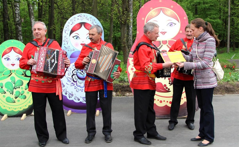 В тульском ЦПКиО имени Белоусова пройдёт слёт гармонистов