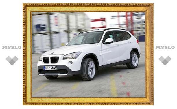 Появились первые официальные фотографии кроссовера BMW X1