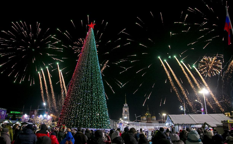 В новогоднюю ночь в Туле запустят фейерверк