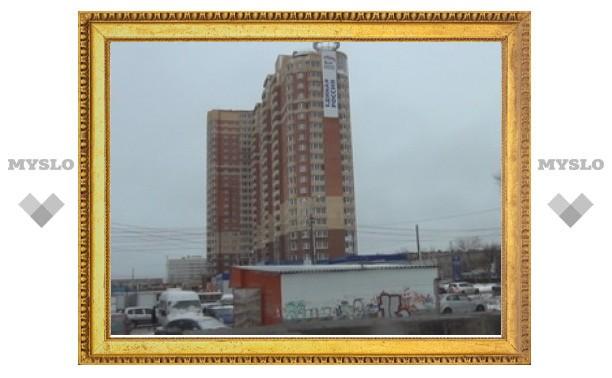 20-метровый баннер может «накрыть» проспект Ленина в Туле