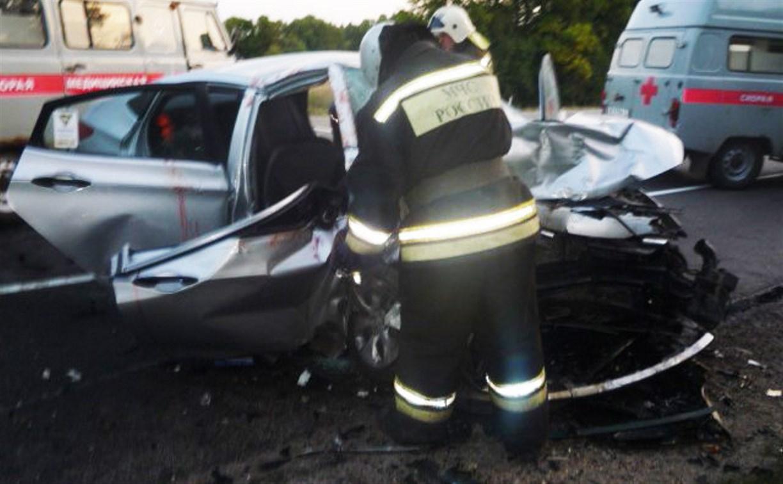 На трассе М2 в Чернском районе разбились две иномарки: есть подстрадавшие