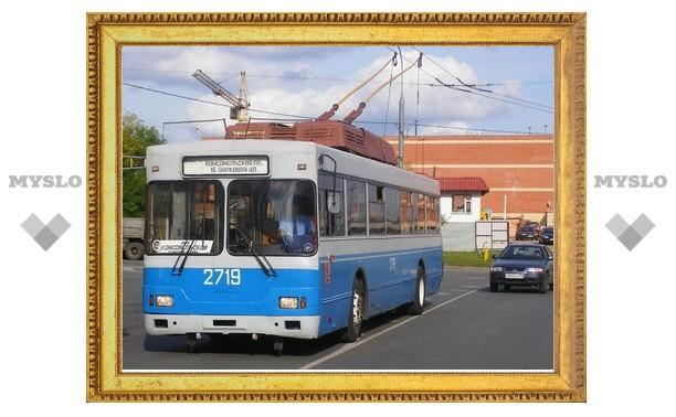 В Туле закроют два троллейбусных маршрута