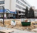Из-за ремонта площади у главпочтамта на два дня запретят движение транспорта по ул. Каминского