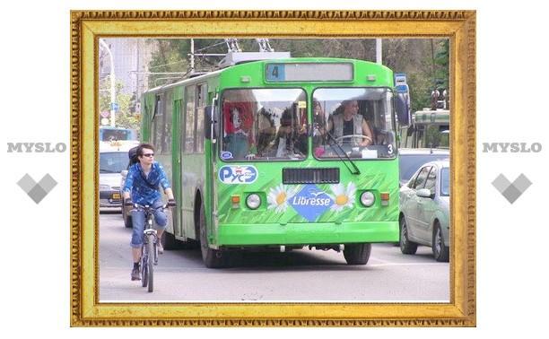 Троллейбус №4 пойдет в объезд