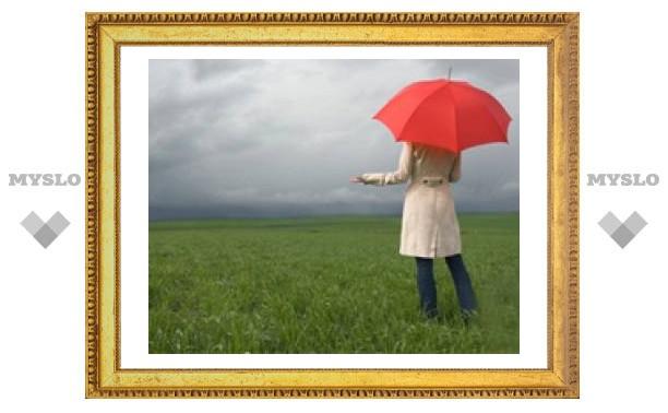 Вечером в Туле дождь