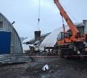 Скопление снега на крыше цеха - предварительная причина ЧП в Черни