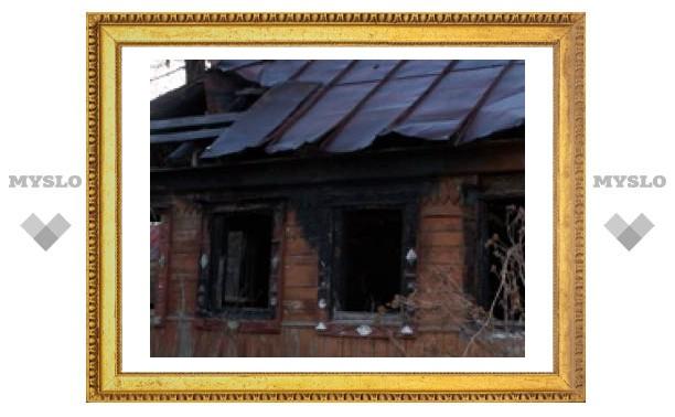 В Туле сжигают частные дома?
